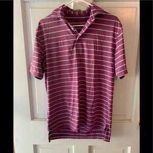 Peter Millar summer comfort striped polo S perfect